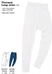 Thermal Long Johns (Sizes S - 2XL = 30-48)